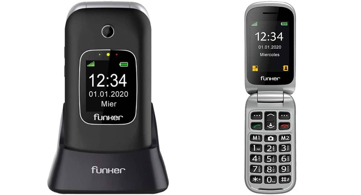 Funker C85 - Télefono para mayores