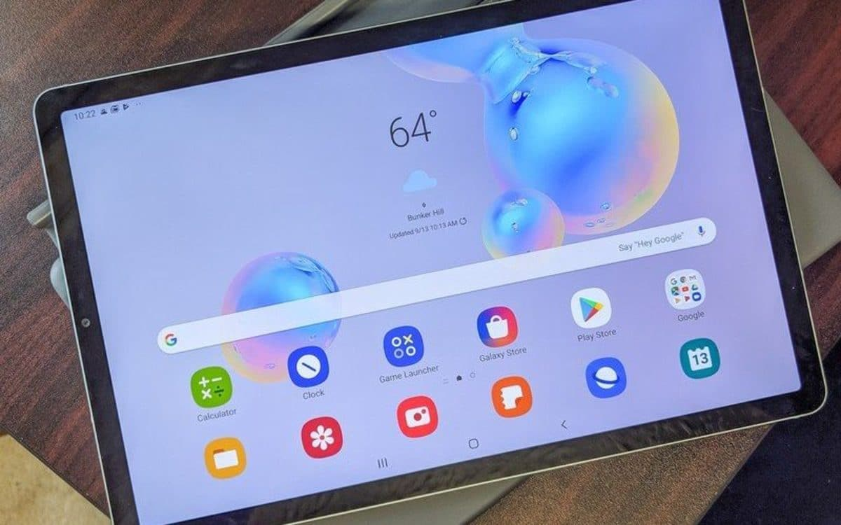 Samsung Galaxy Tab S6 One UI