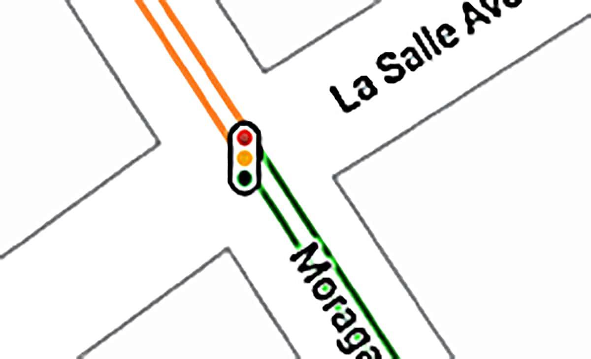 Semáforo de Google Maps