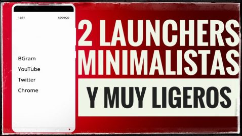 Launchers minimalistas