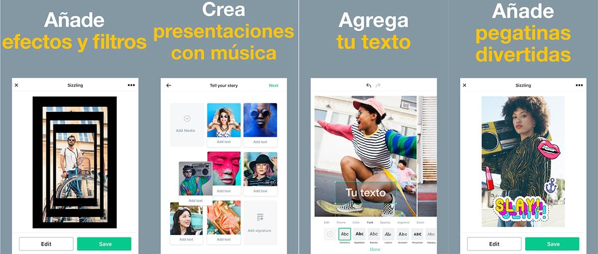 Magisto - Crear vídeos con fotografías