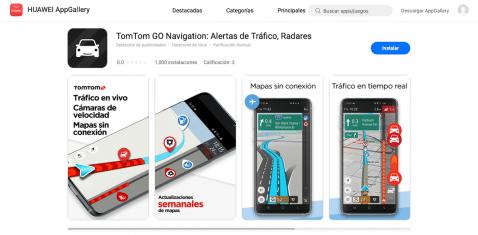 TomTom Go Navigation App Gallery