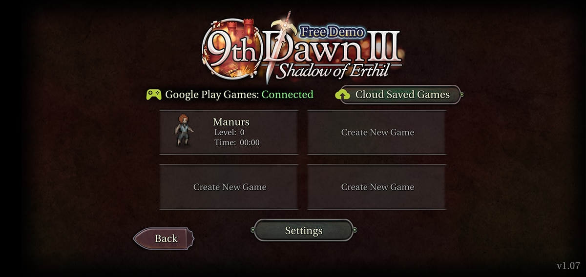 9th dawn iii juego
