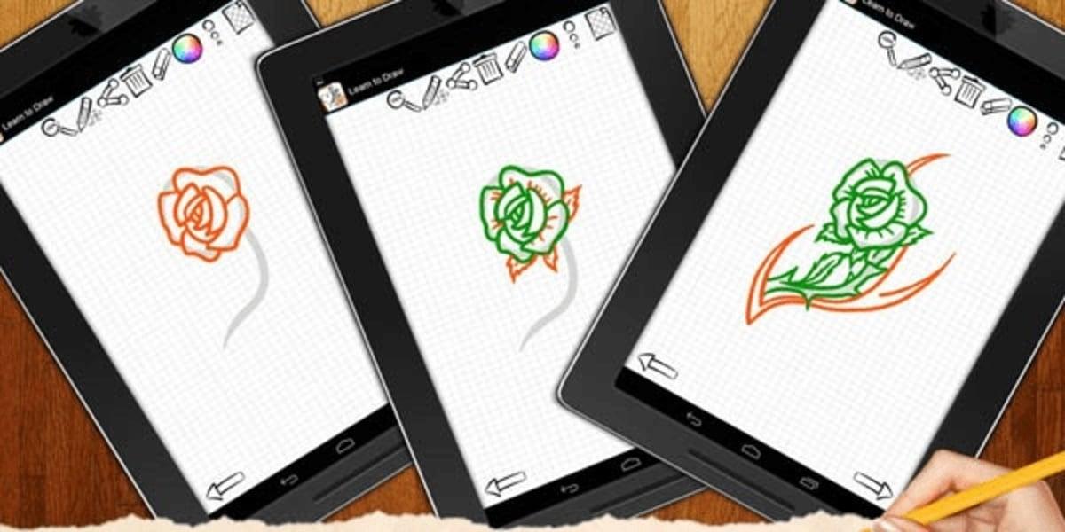 Aplicaciones para aprender a dibujar