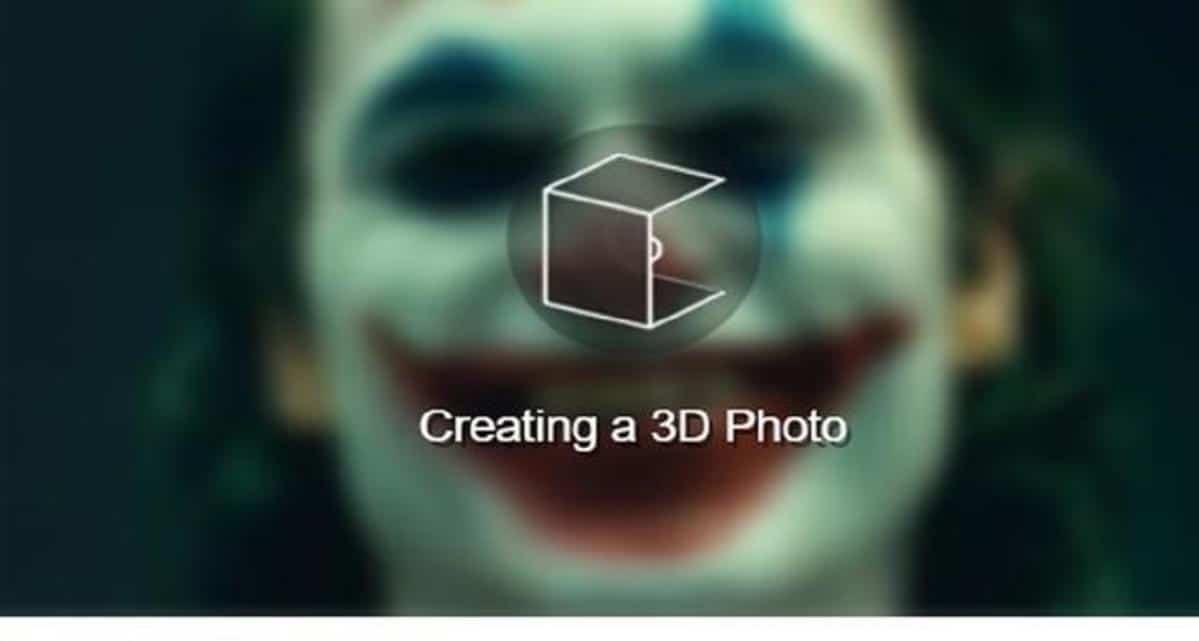 Creando foto 3D