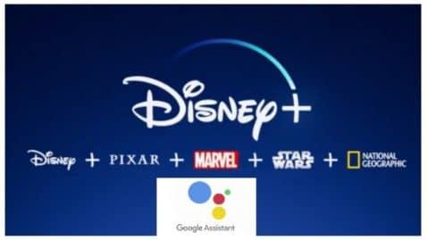 Disney+ Asistente Google