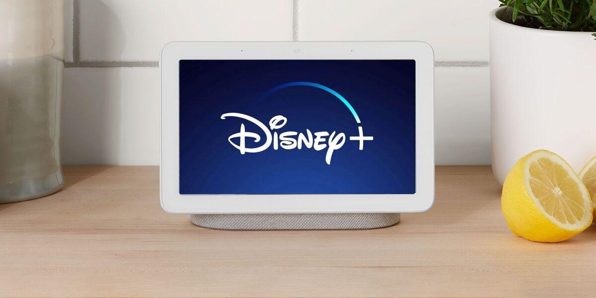 Asistente Google con Disney+