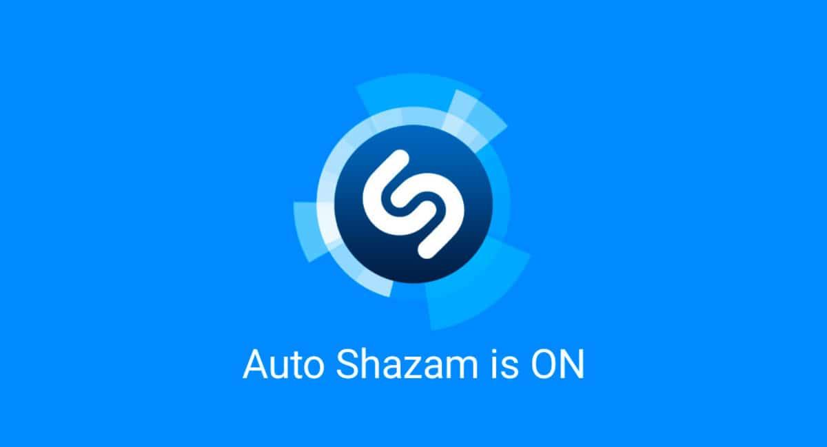 Shazam is on