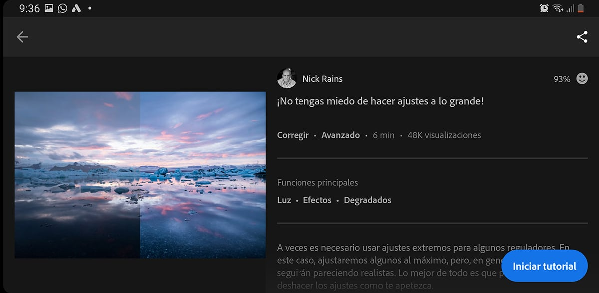 Adobe Lightroom tutoriales