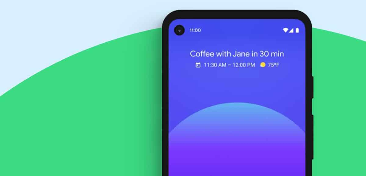 Android 11 grabando llamada de audio
