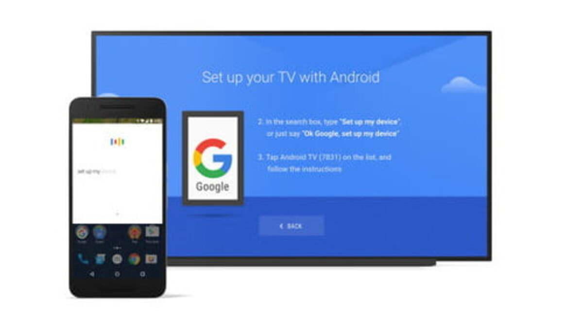 Android televisión remote