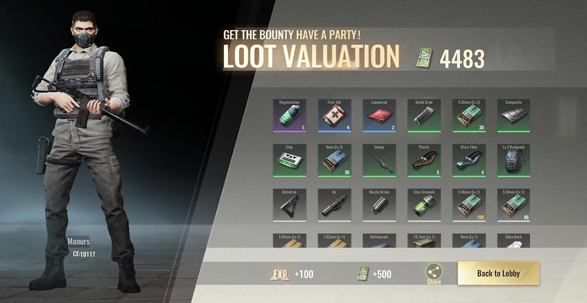 Badlanders loot