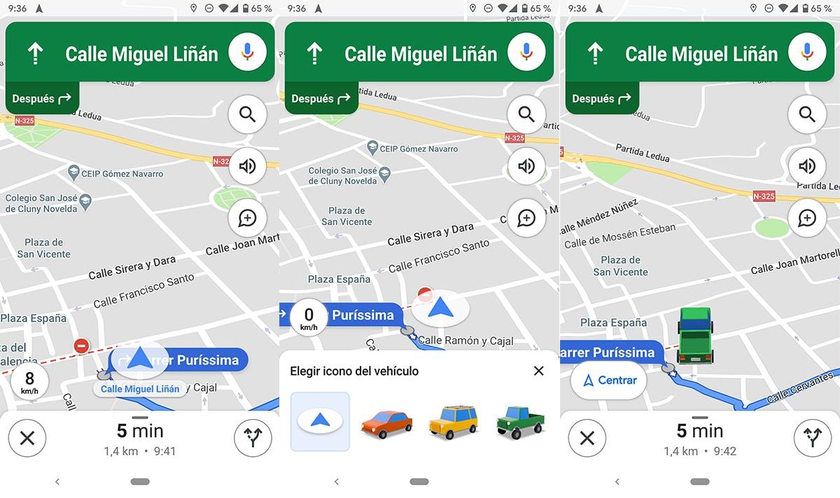 Icono localización Google Maps