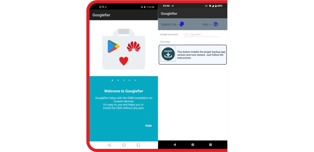 Cómo instalar las apps de google en Huawei