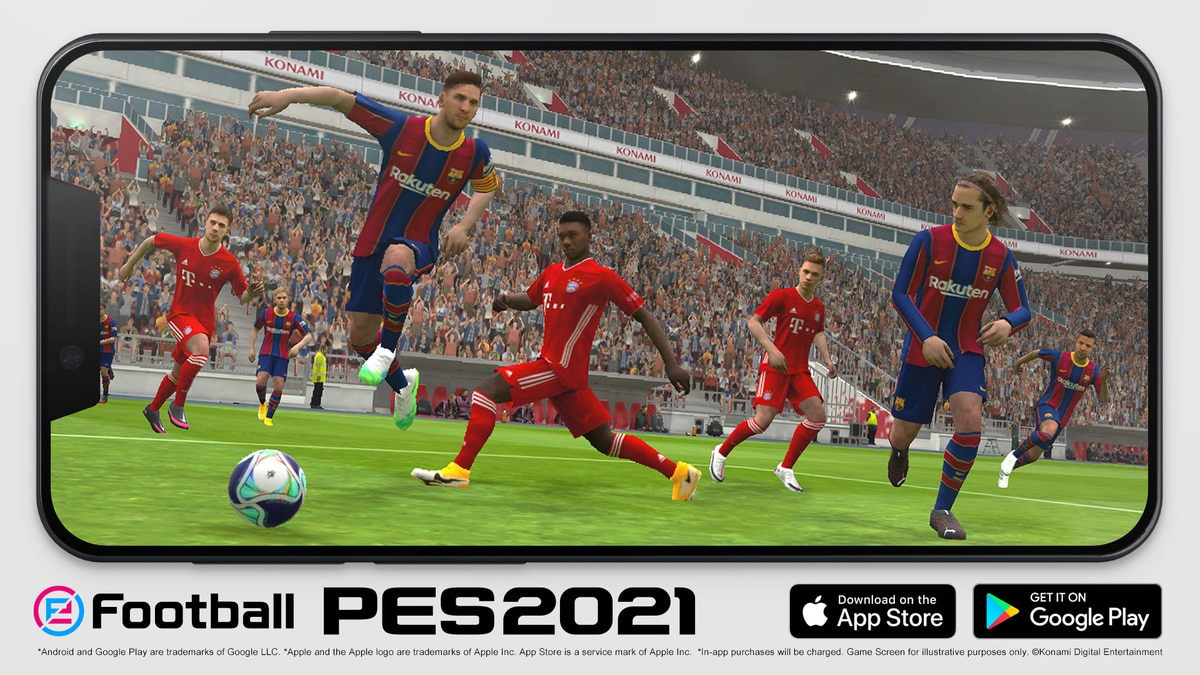eFootball PES 2021 Mobile ya disponible gratis para Android