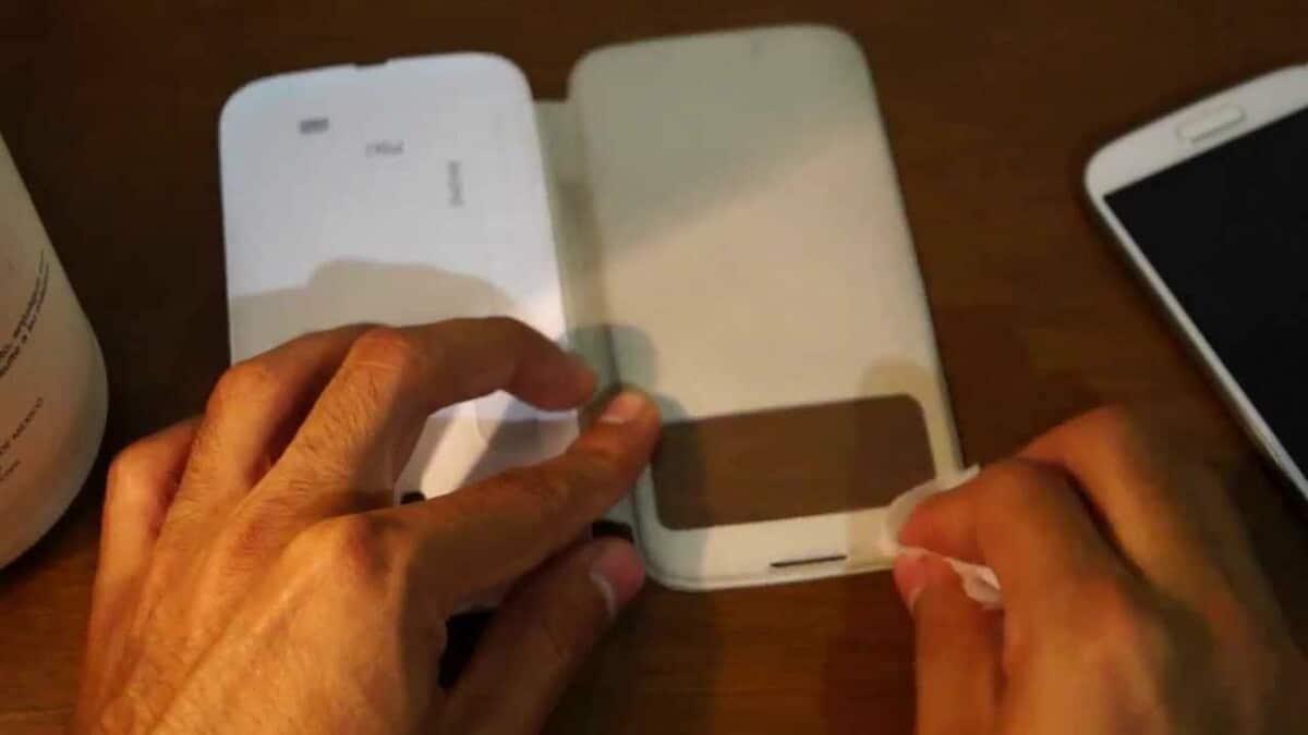 Funda papel móvil