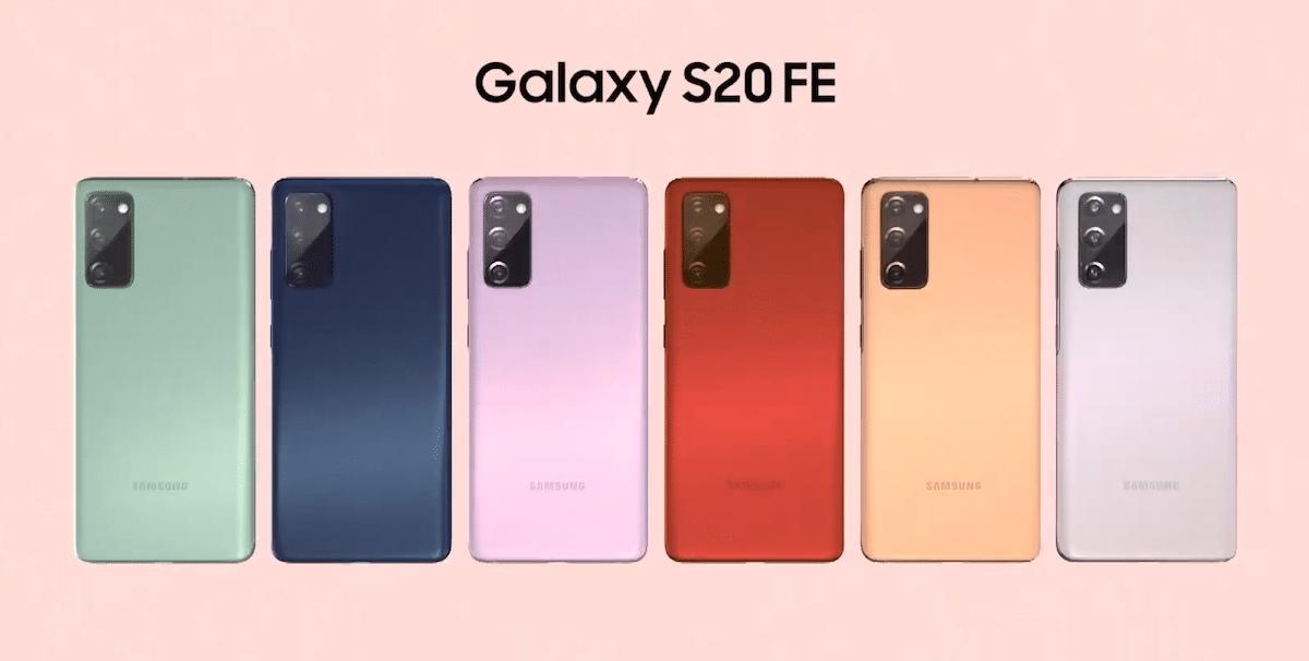 Cámaras Galaxy S20 FE