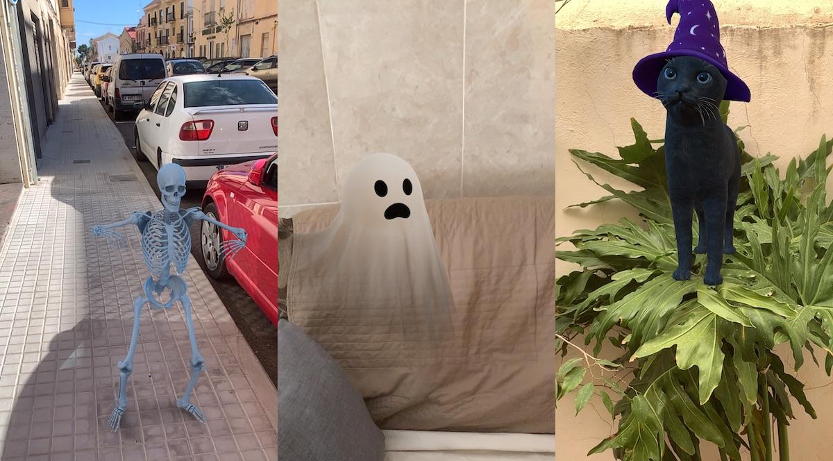Objetos 3D Google™ Halloween