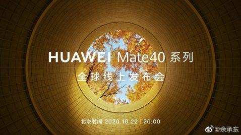 Huawei Mate 40 Presentación