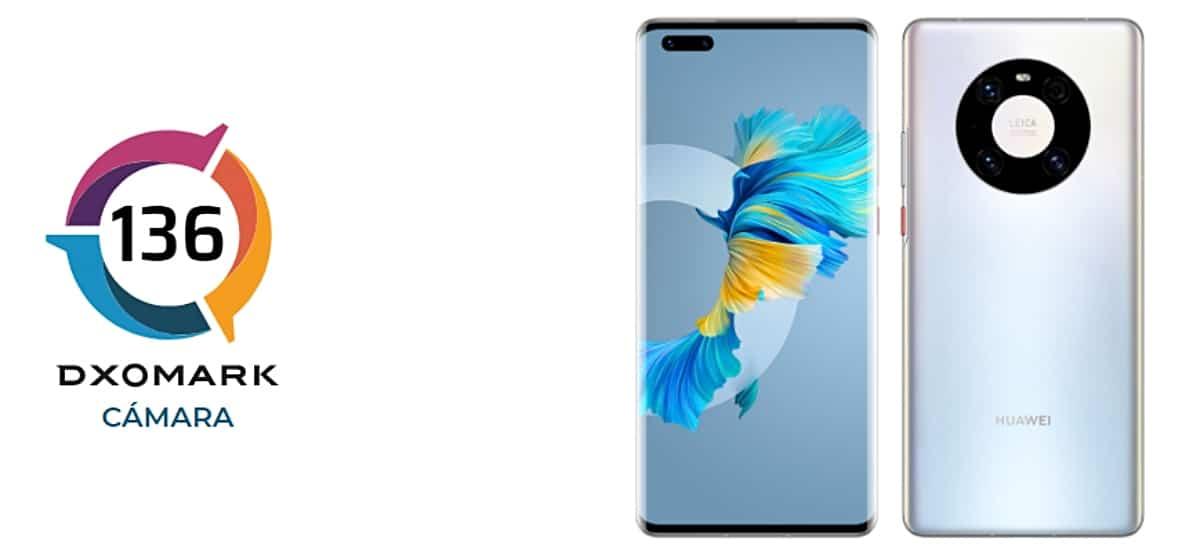Huawei Mate 40 Pro en DxOmark