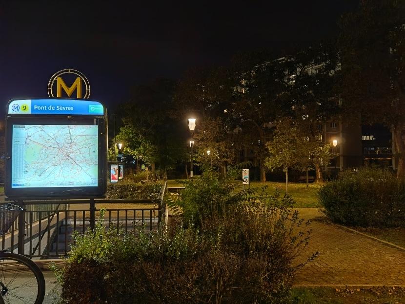 Foto de noche con el Mate 40 Pro de Huawei, por DxOMark
