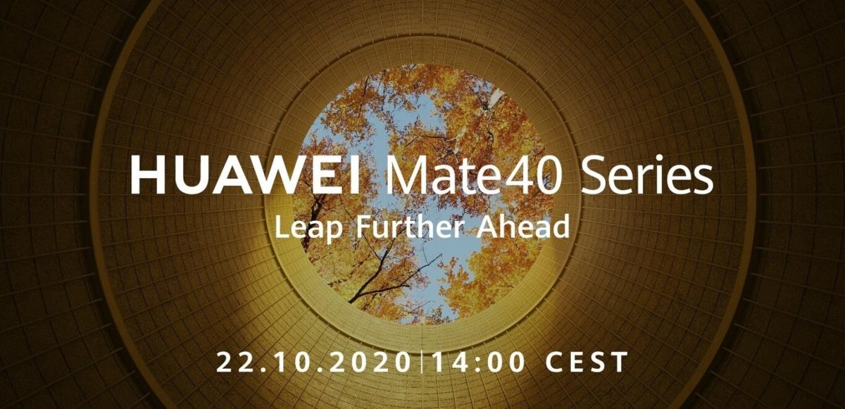 Presentación y lanzamiento de la serie Huawei Mate 40