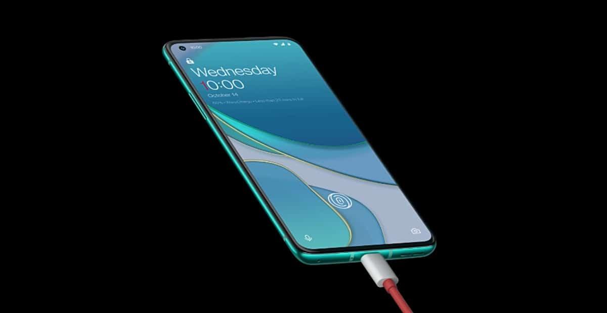 Cargador de 65 W del OnePlus 8T