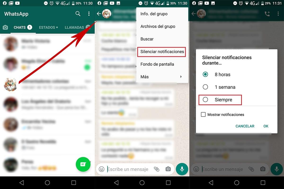 silenciar-grupos-whatsapp