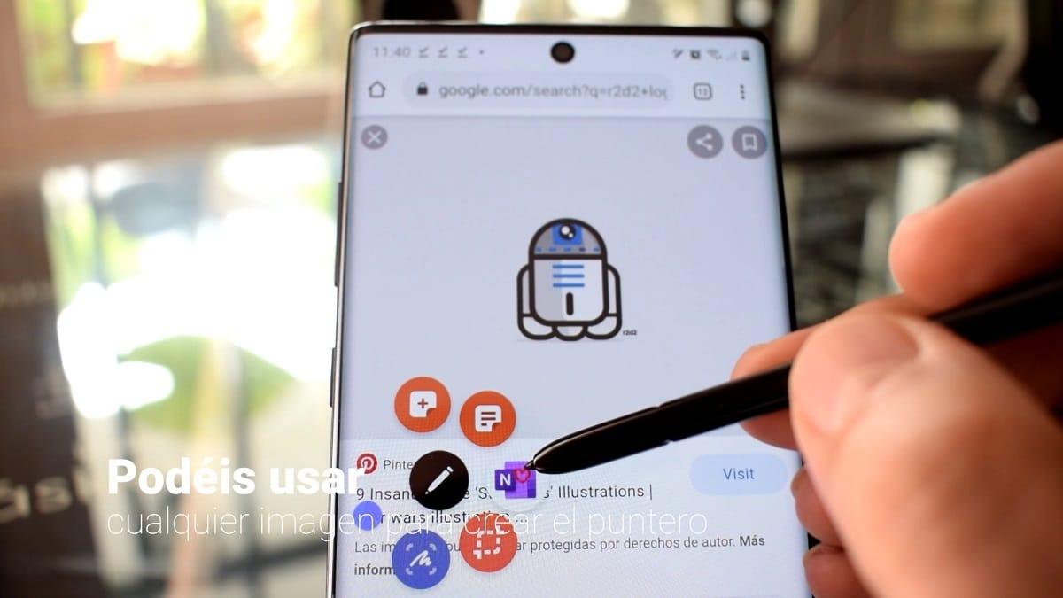 Smart Detect del S pen