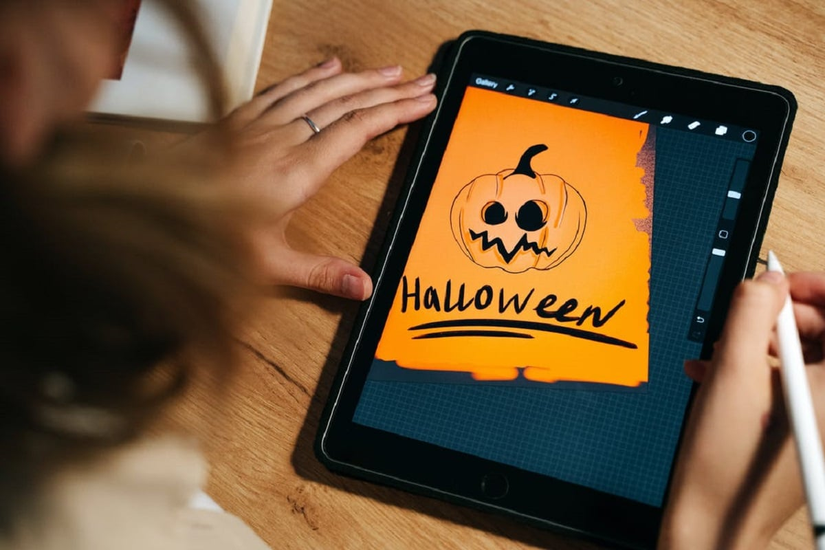 tablet halloween