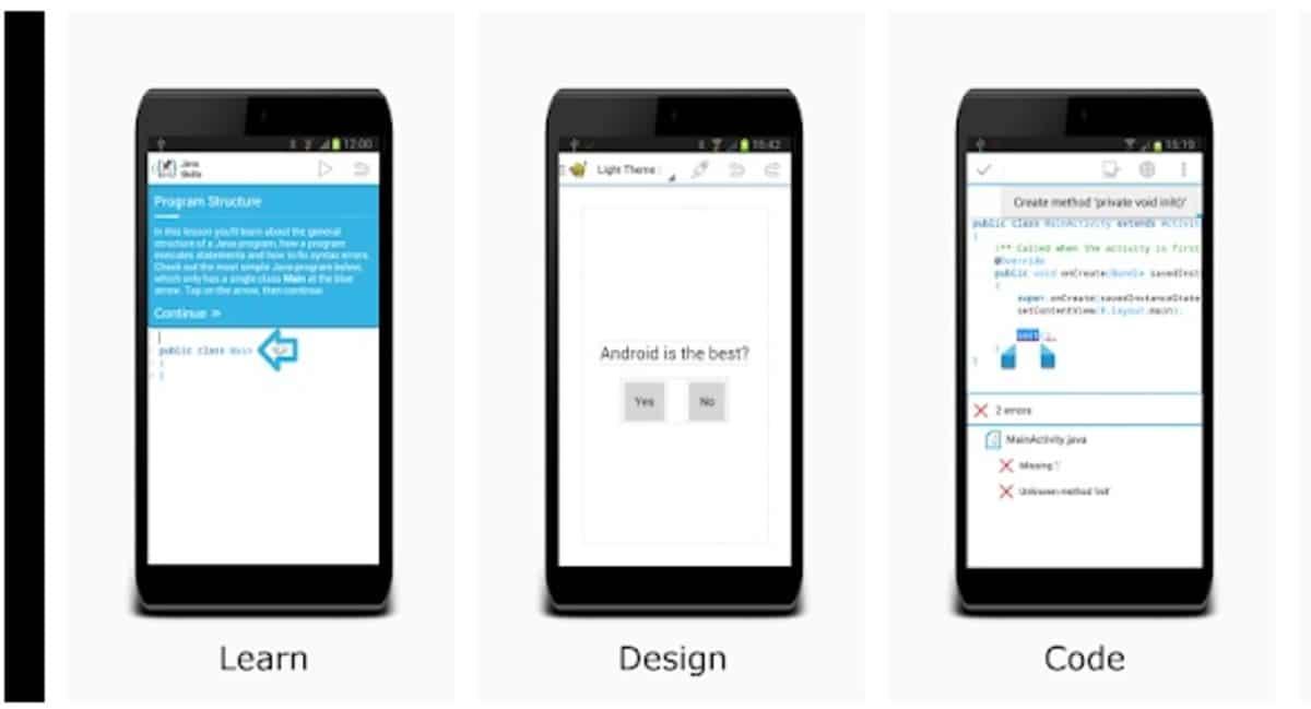 Aprender a programar con Aide para Android
