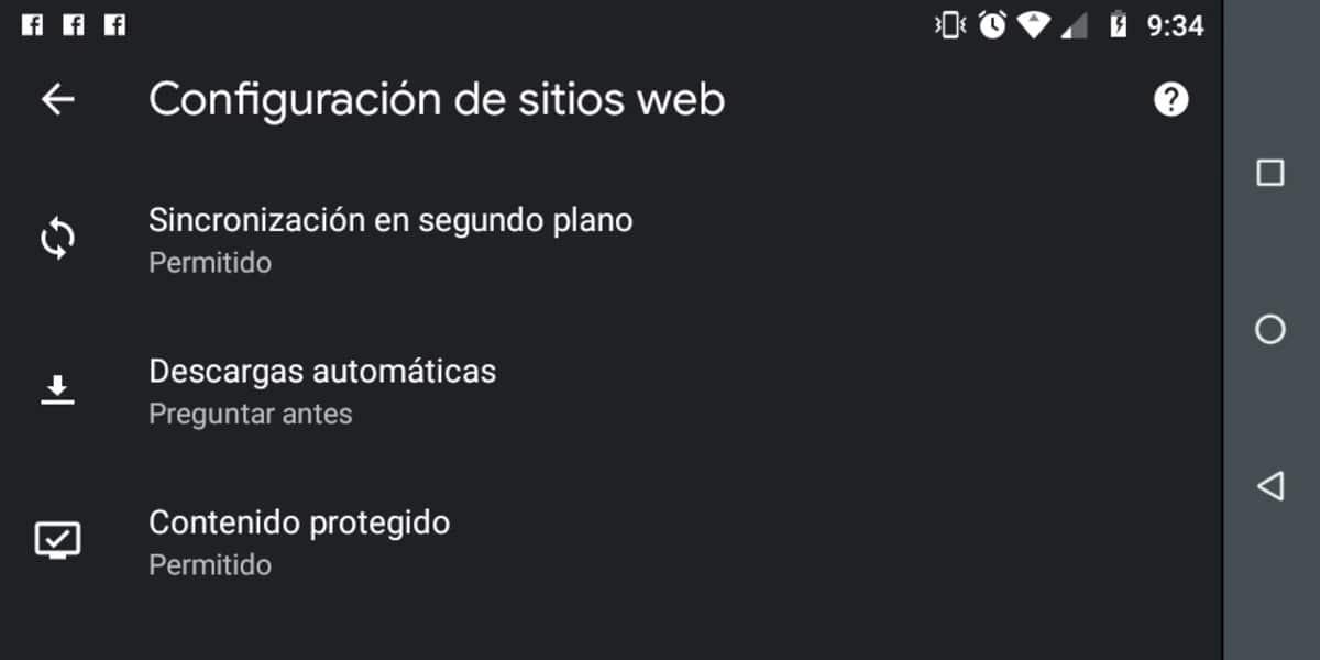 Descargas automáticas Chrome