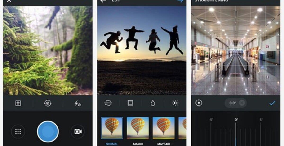 Opciones Instagram