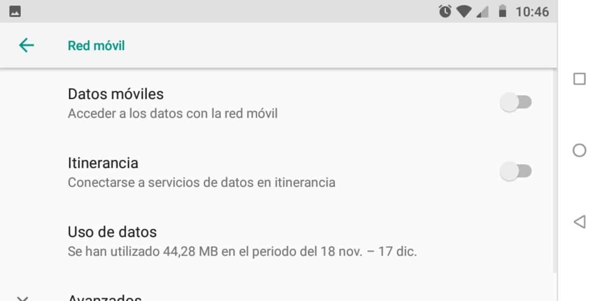 Itinerancia de datos