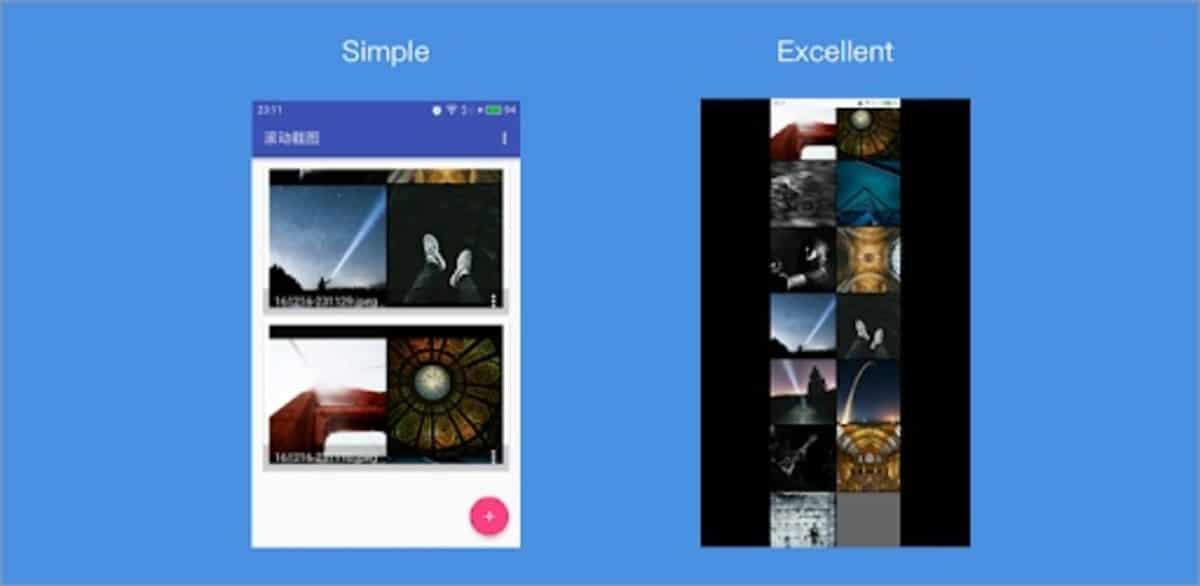 LongScreenShot Android