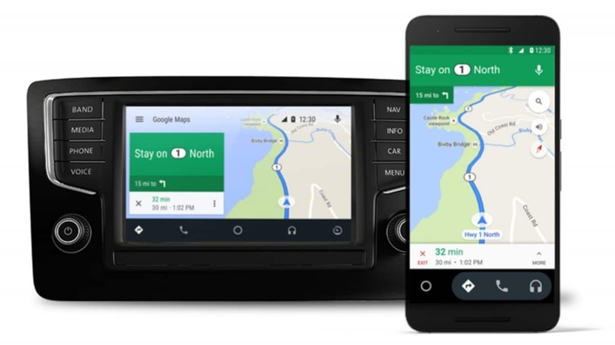 Maps Android Auto