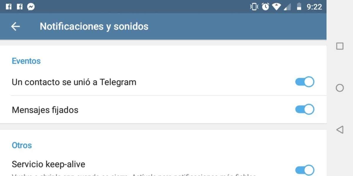 Telegram se unio