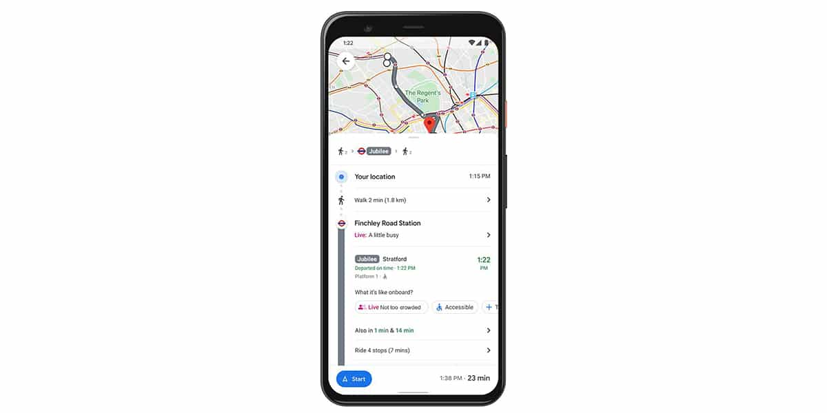 Ocupación del transporte en <stro />Google</strong>® Maps en tiempo real» width=»1200″ height=»600″ srcset=»https://www.androidsis.com/wp-content/uploads/2020/11/google-maps-ocupacion-transporte.jpg 1200w, <a target=
