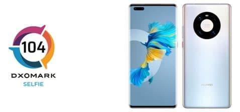 Review de cámara frontal del Huawei Mate 40 Pro, por DxOMark