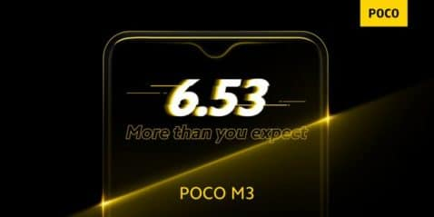 Poco M3 panel