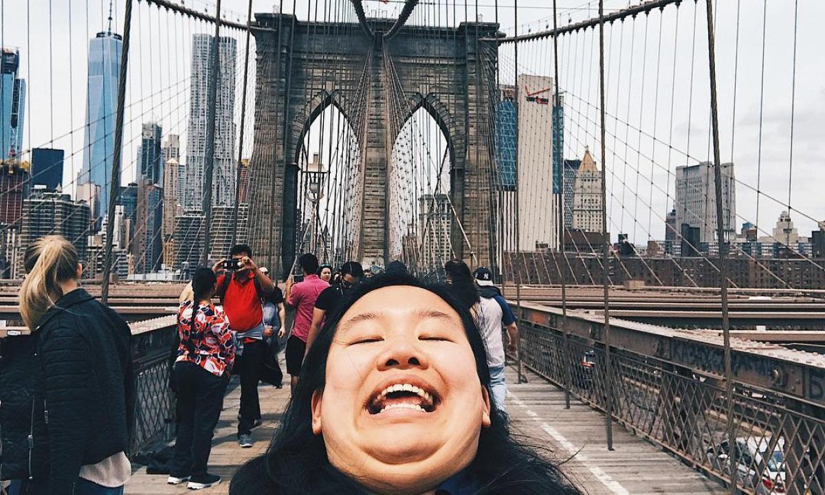 Selfie de papada
