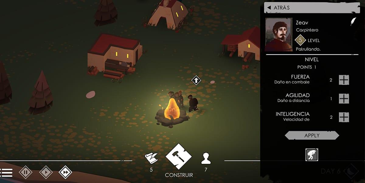 The Bonfire 2 noche