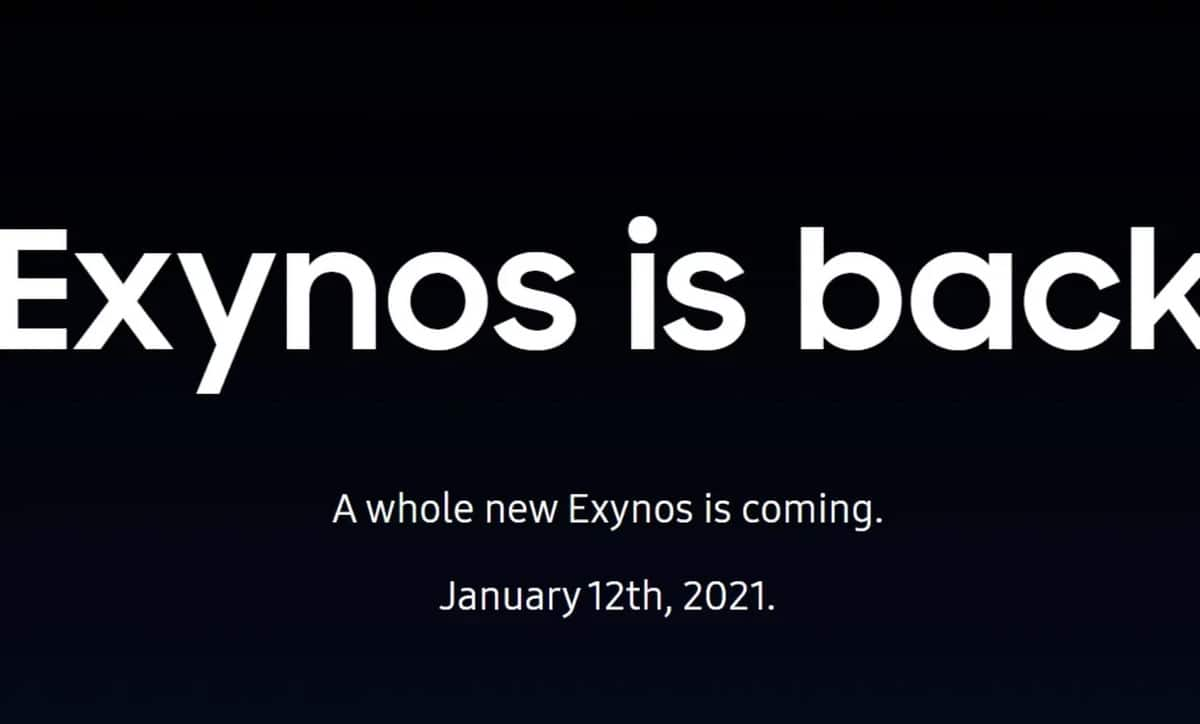 Exynos is back 2100