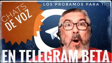 Telegram beta chat de voz