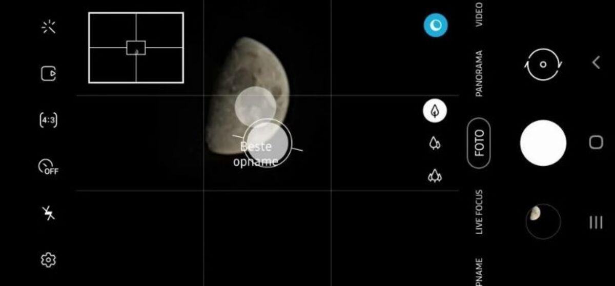 Modo Luna Samsung