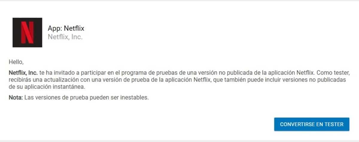 Tester Netflix