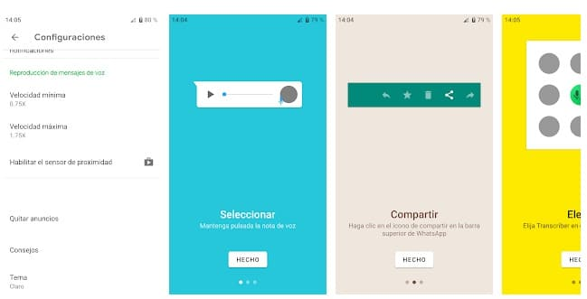 Transcriber android
