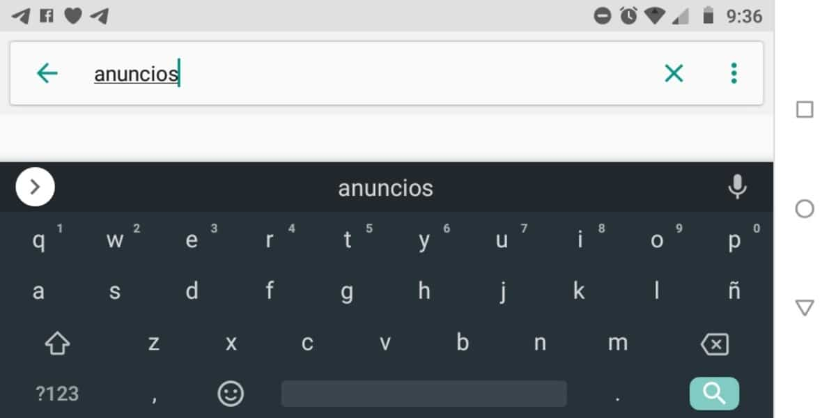 Anuncios Android