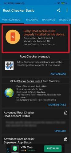 Cómo conocer si usted móvil Android™ tiene entrada root