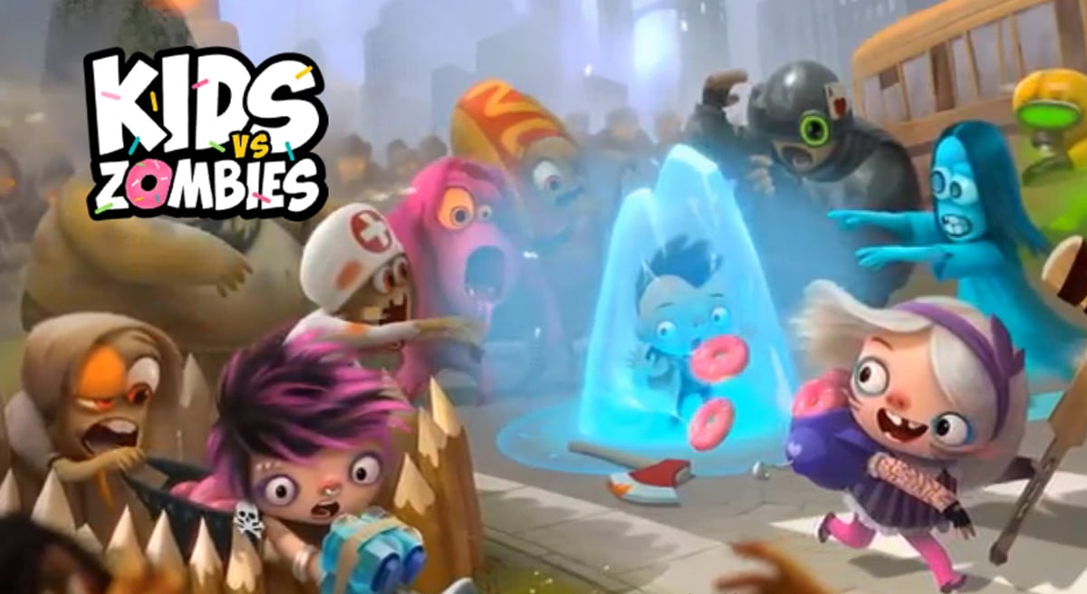 Kids Vs Zombies: Combate por los Donuts